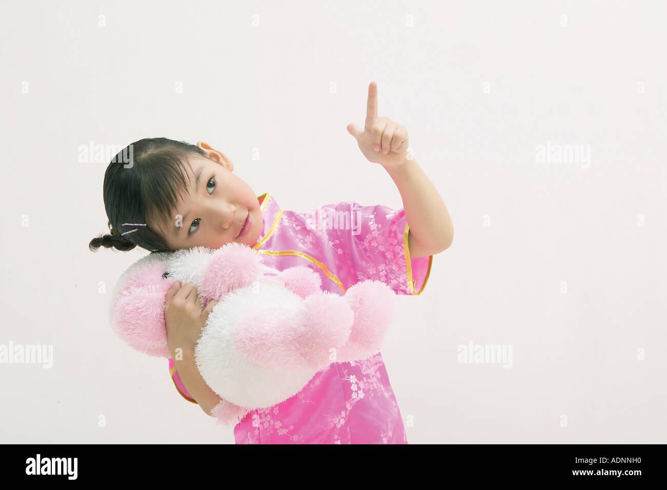 Kids Style Stock Photo