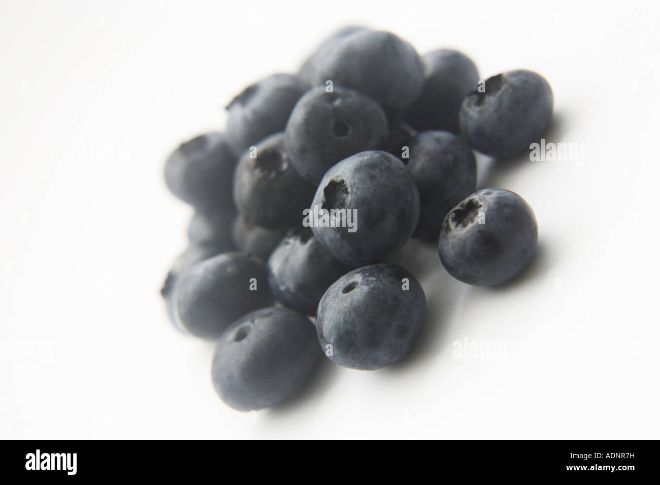 Blueberries Superfood - Stock Image
