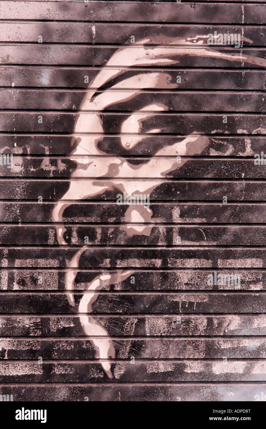 Manchester Graffiti UK #03 - Stock Image
