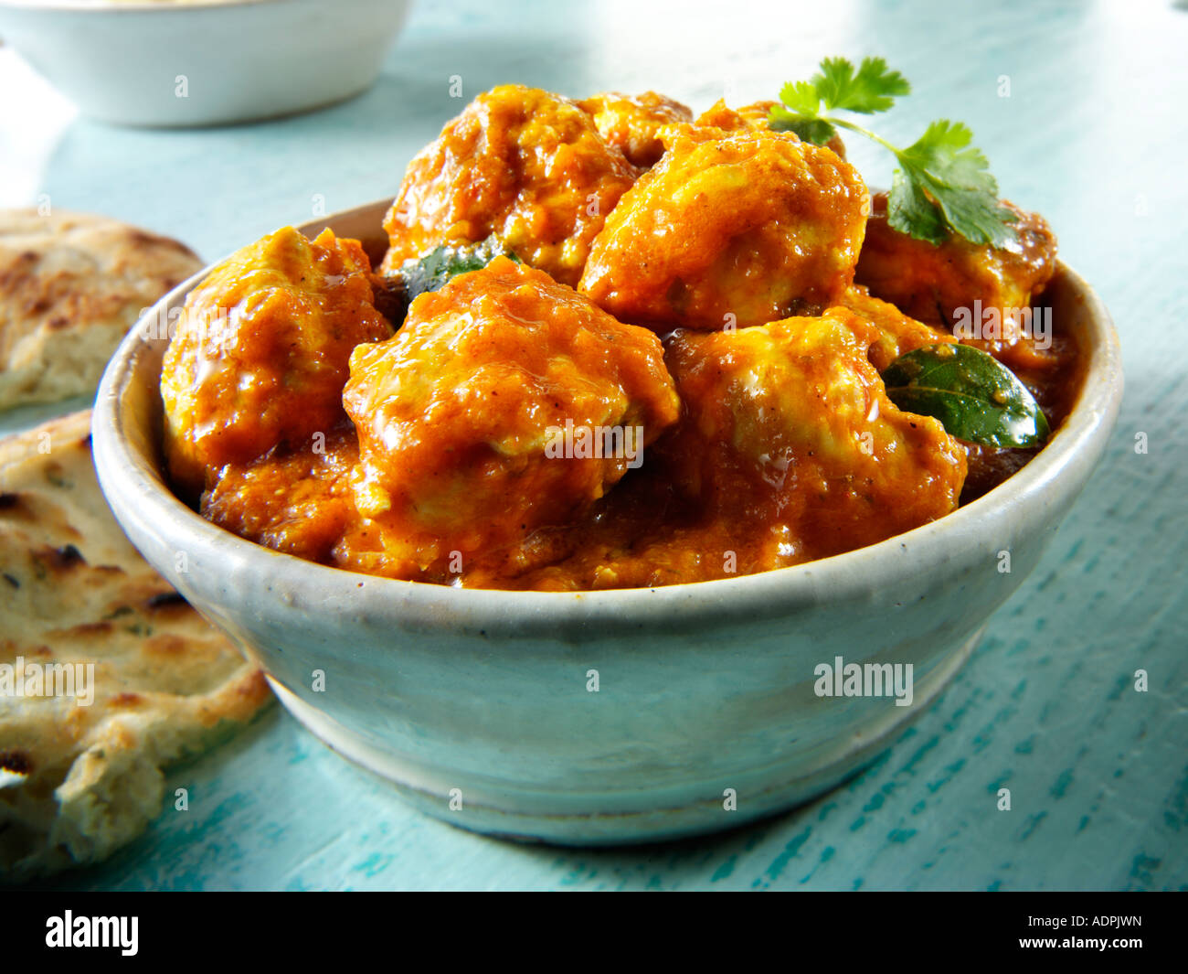 Chicken Madras Indian curry - Stock Image