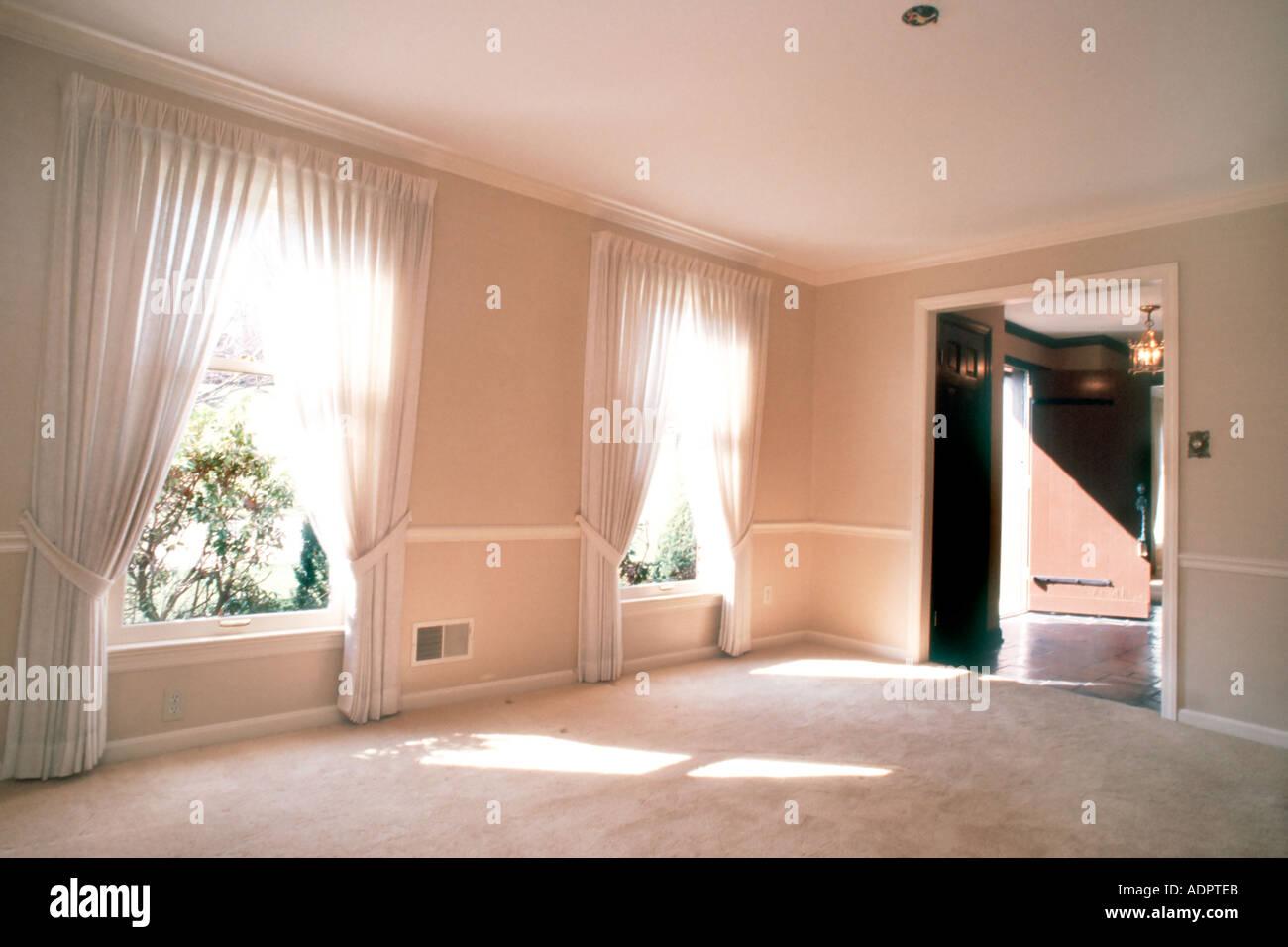 Pittsburgh, PA, USA Showcase Home Interior, Luxury - Stock Image