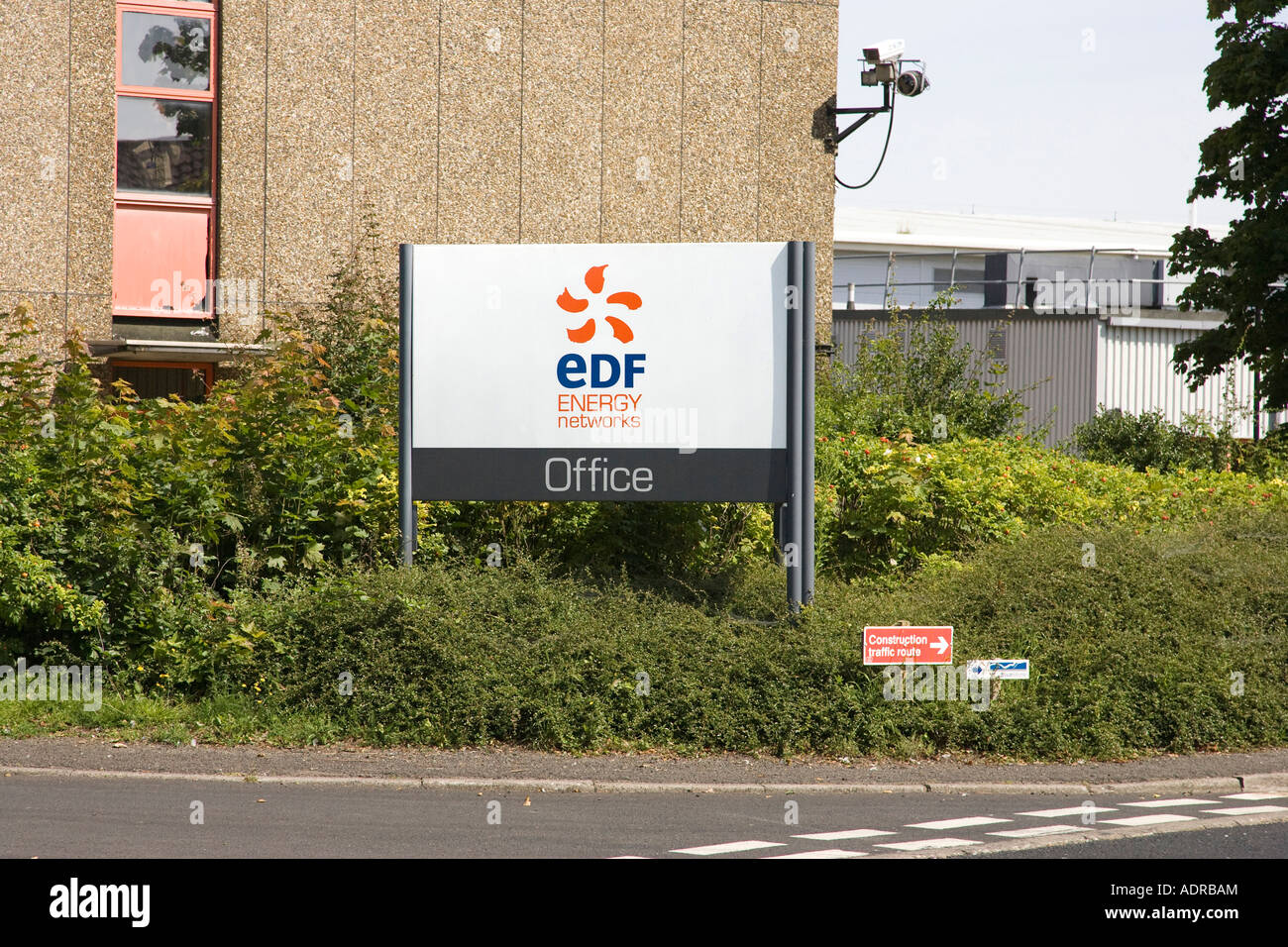 EDF office at Bury St Edmunds in Suffolk, UK - Stock Image