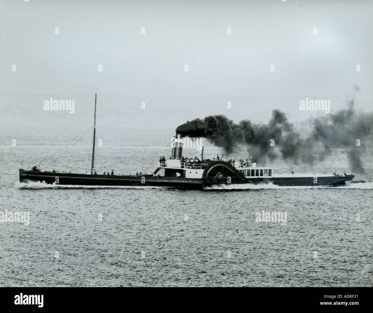 UK Scotland Firth of Clyde off Greenock the Paddle Steamer