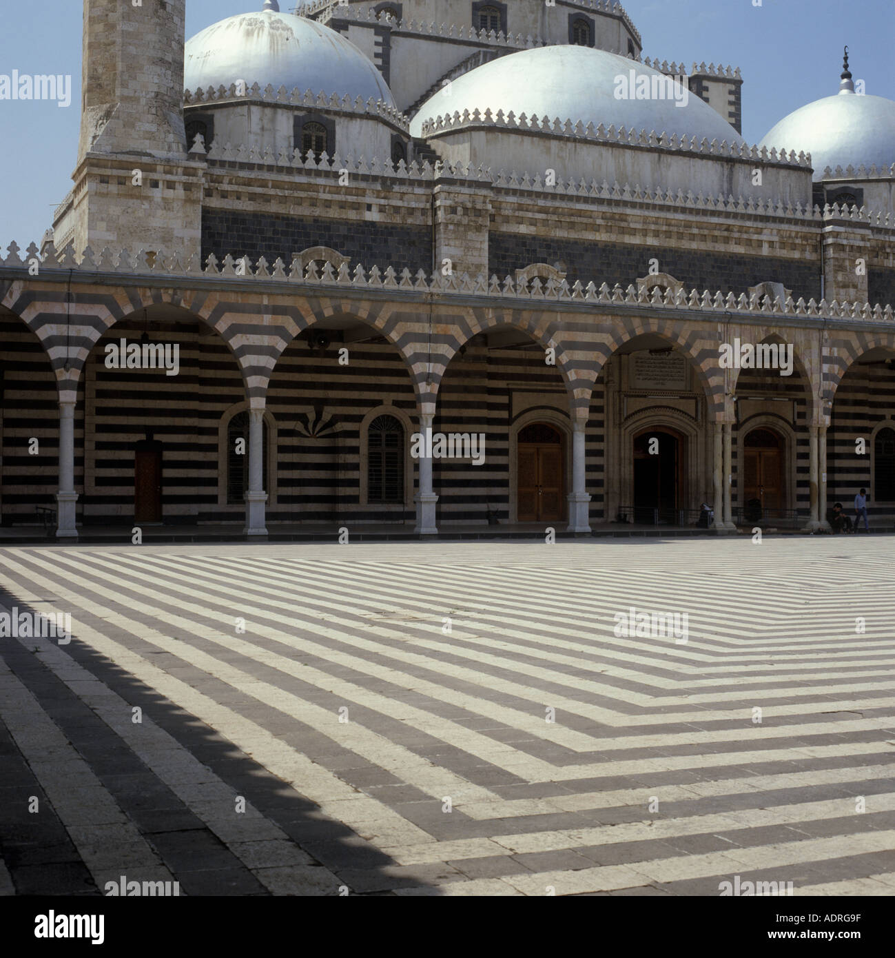 Mosque of Khalid ibn al Walid Homs Syria - Stock Image