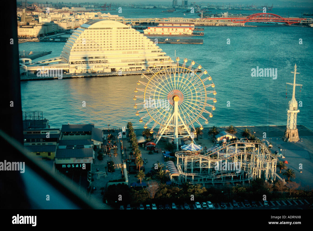 View of Kobe Port Kobe City Japan - Stock Image