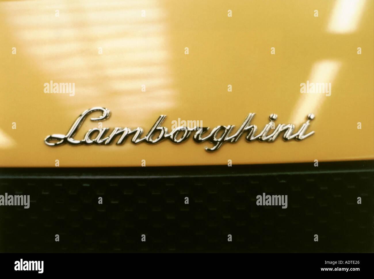 Lamborghini Murcielago Logo Name Automobile Motorcar Vehicle Brand
