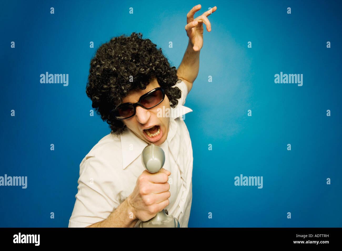 Impersonation Stock Photo