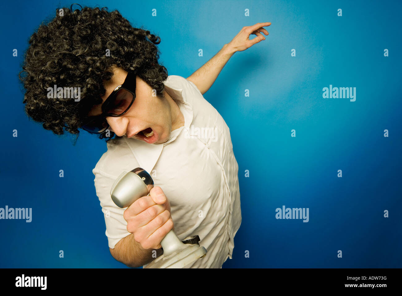 Impersonation - Stock Image