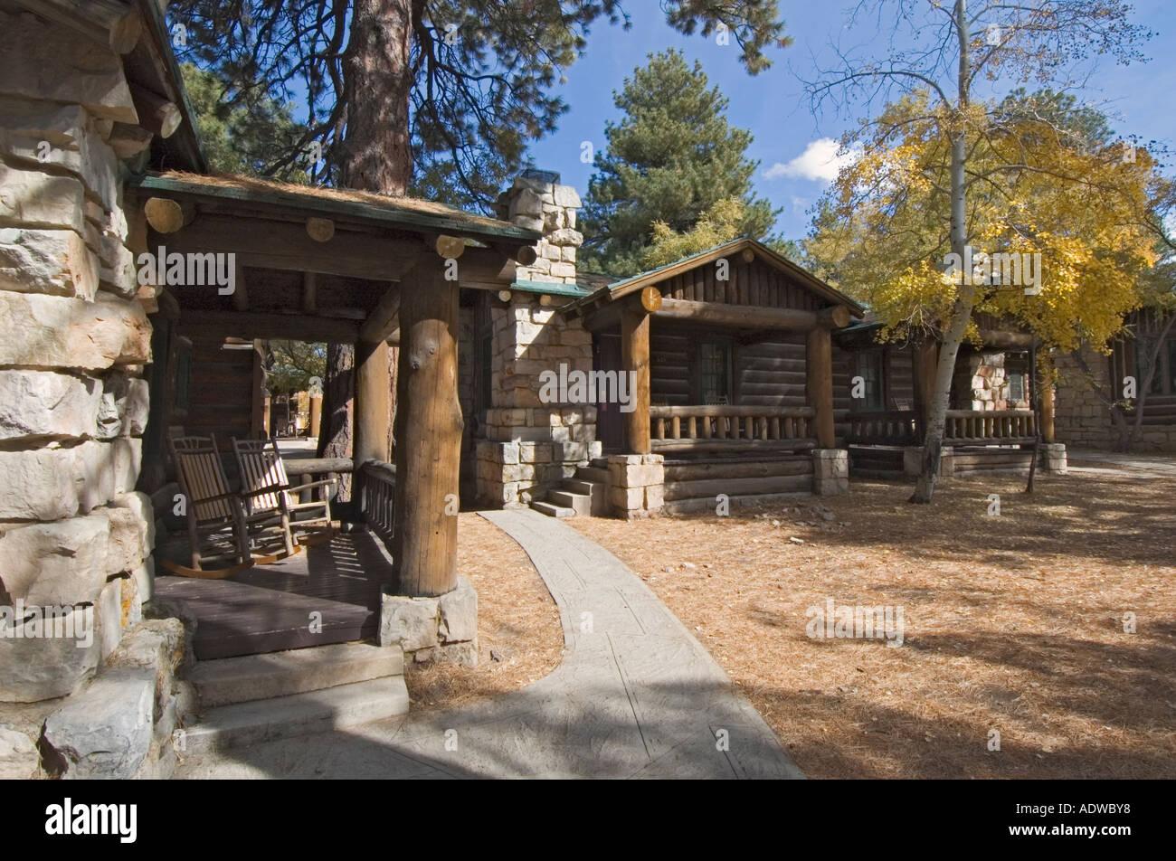 Arizona Grand Canyon National Park North Rim Grand Canyon Lodge Hotel Cabin