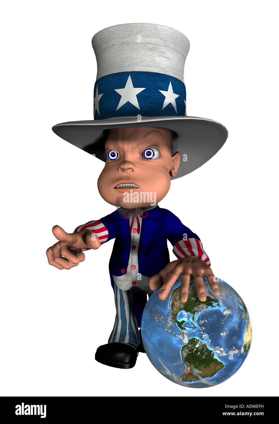 Uncle Sam Cartoon Stock Photos & Uncle Sam Cartoon Stock ...