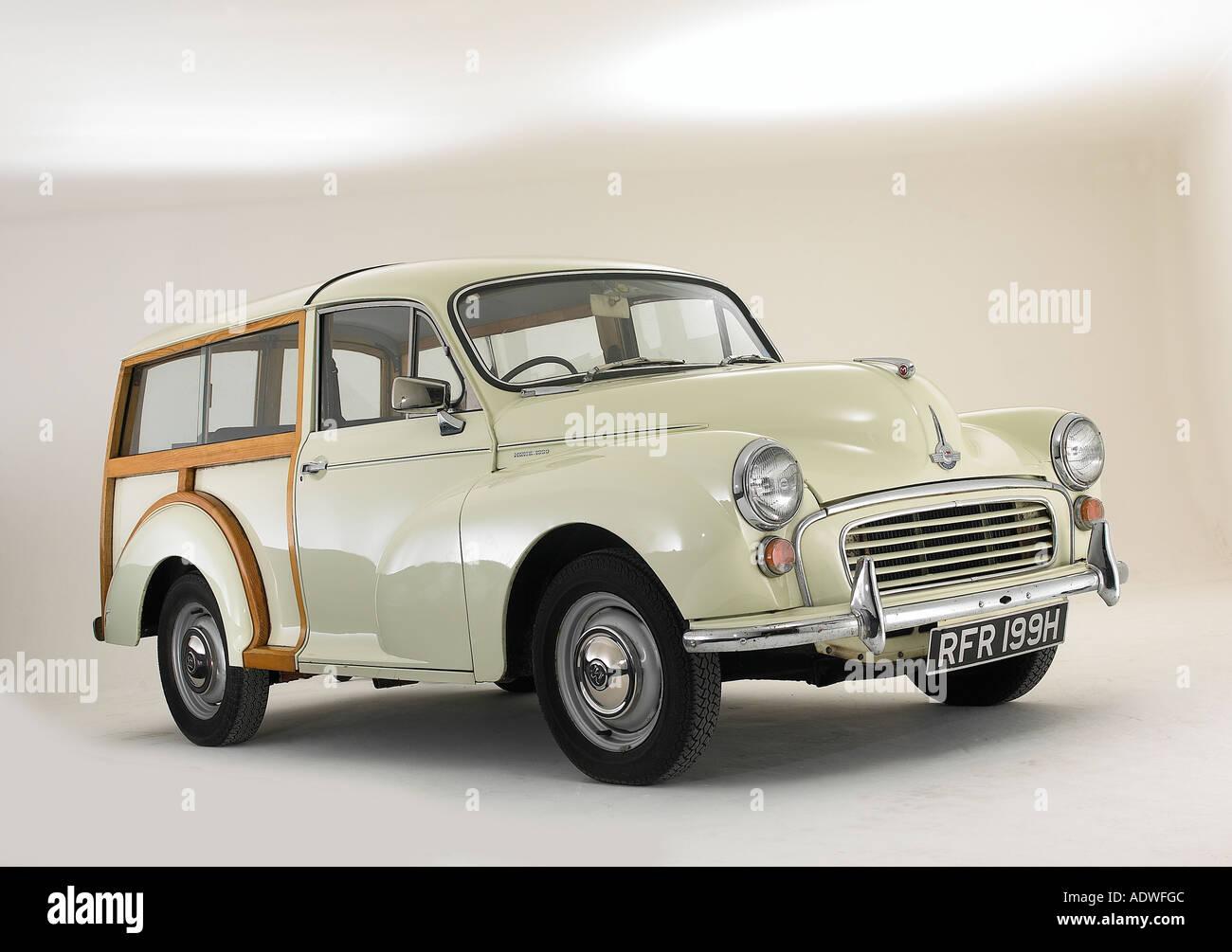 1970 Morris Minor Traveller Stock Photo
