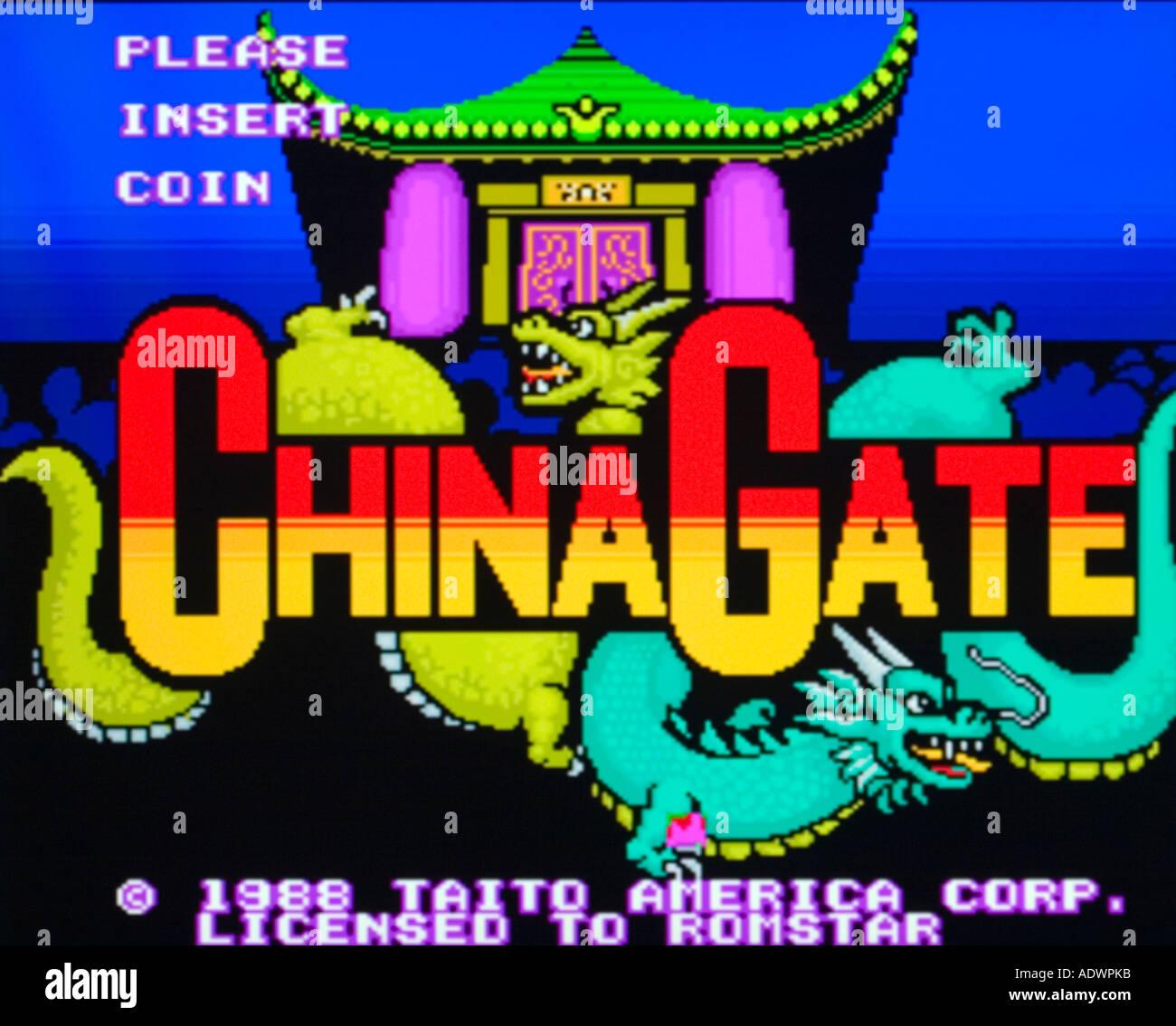 china-gate-taito-1988-vintage-arcade-vid