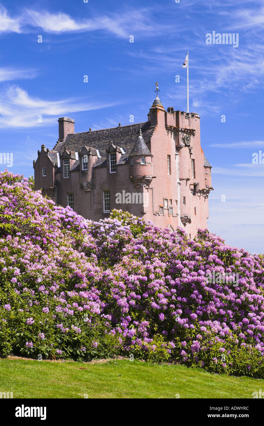 Crathes Castle, Aberdeenshire, Scotland - Stock Image