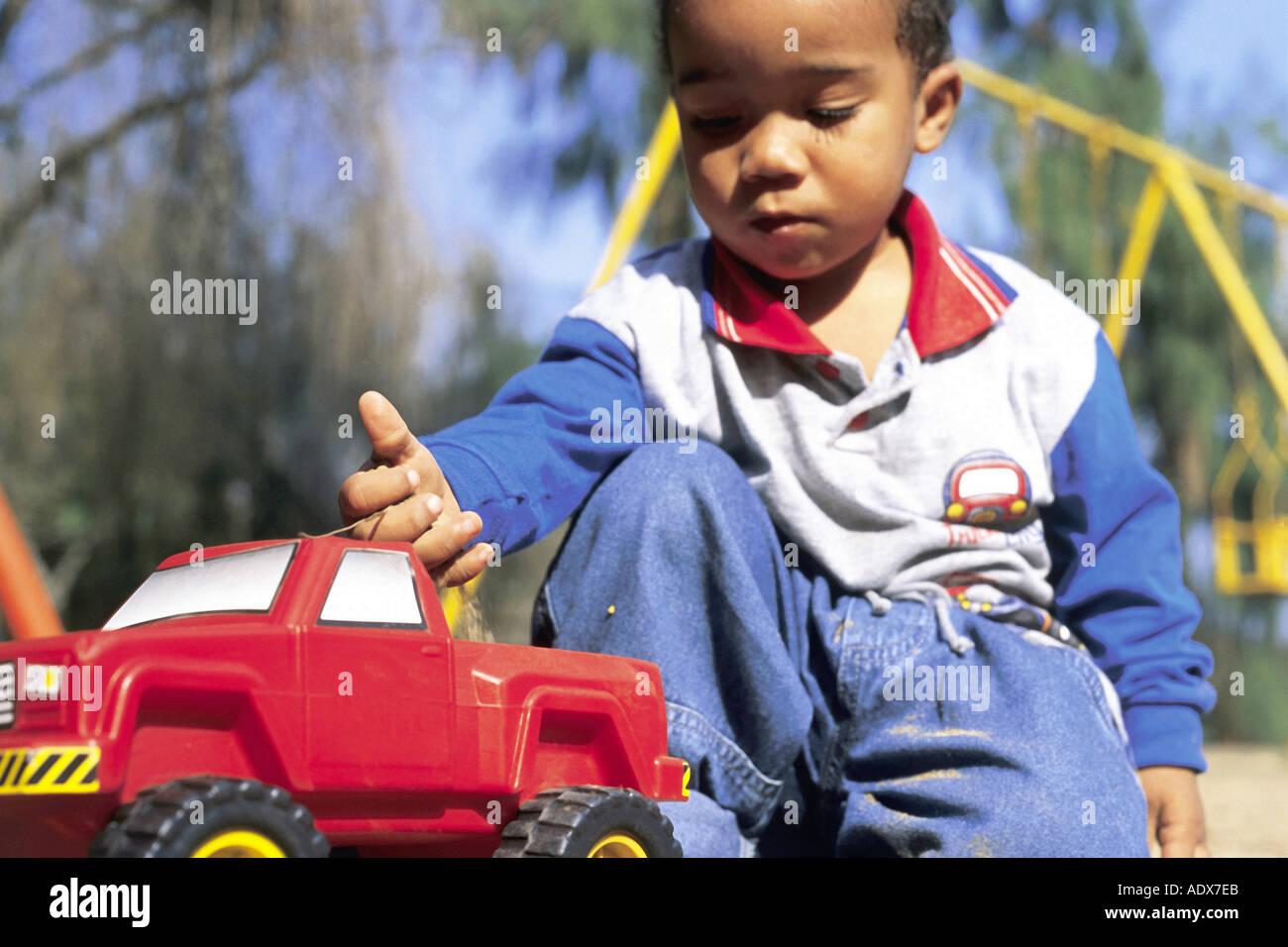 Black boy toy