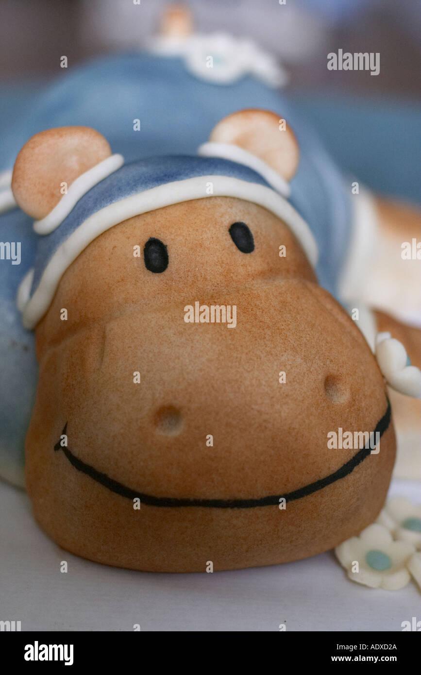 Hippo Birthday Cake Stock Photo 2518313 Alamy