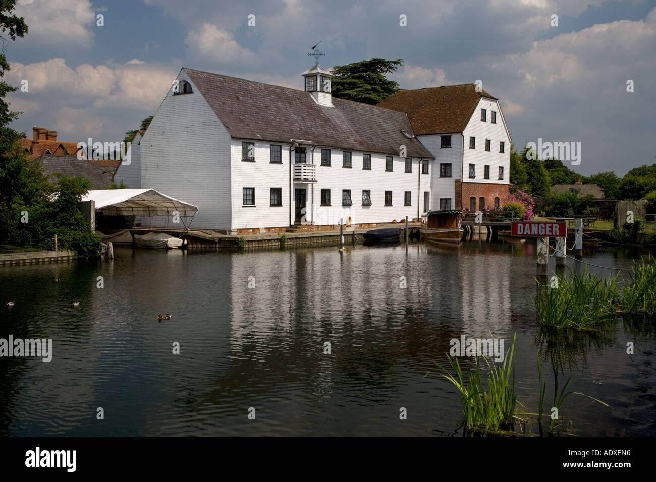 Hambleden Mill River Thames Buckinghamshire UK Stock Photo