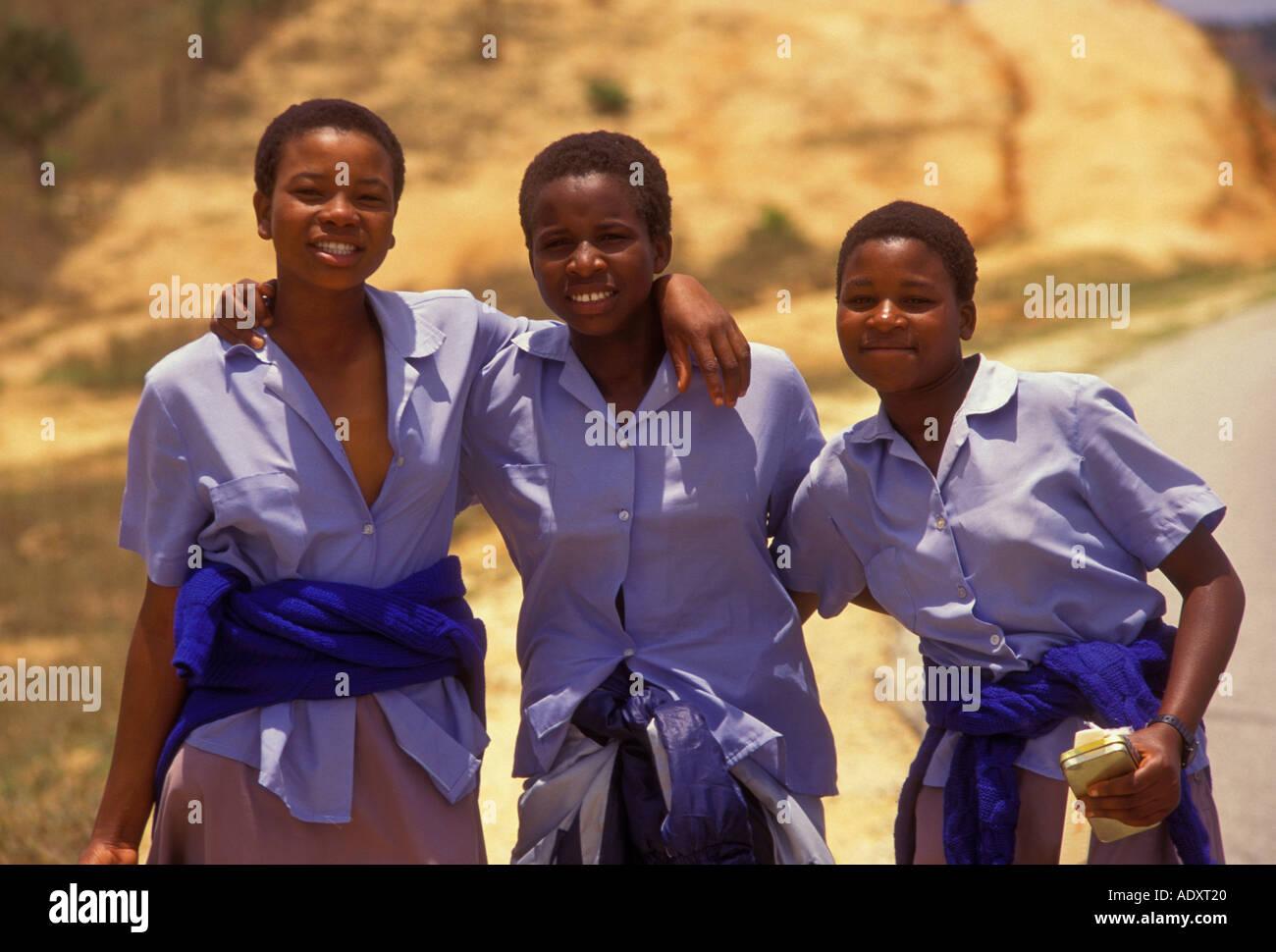 Zimbabwe teen girl