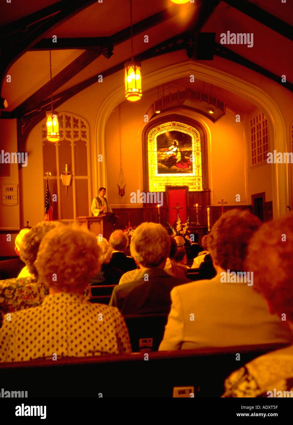 Church Preaching Sermon Stock Photos & Church Preaching