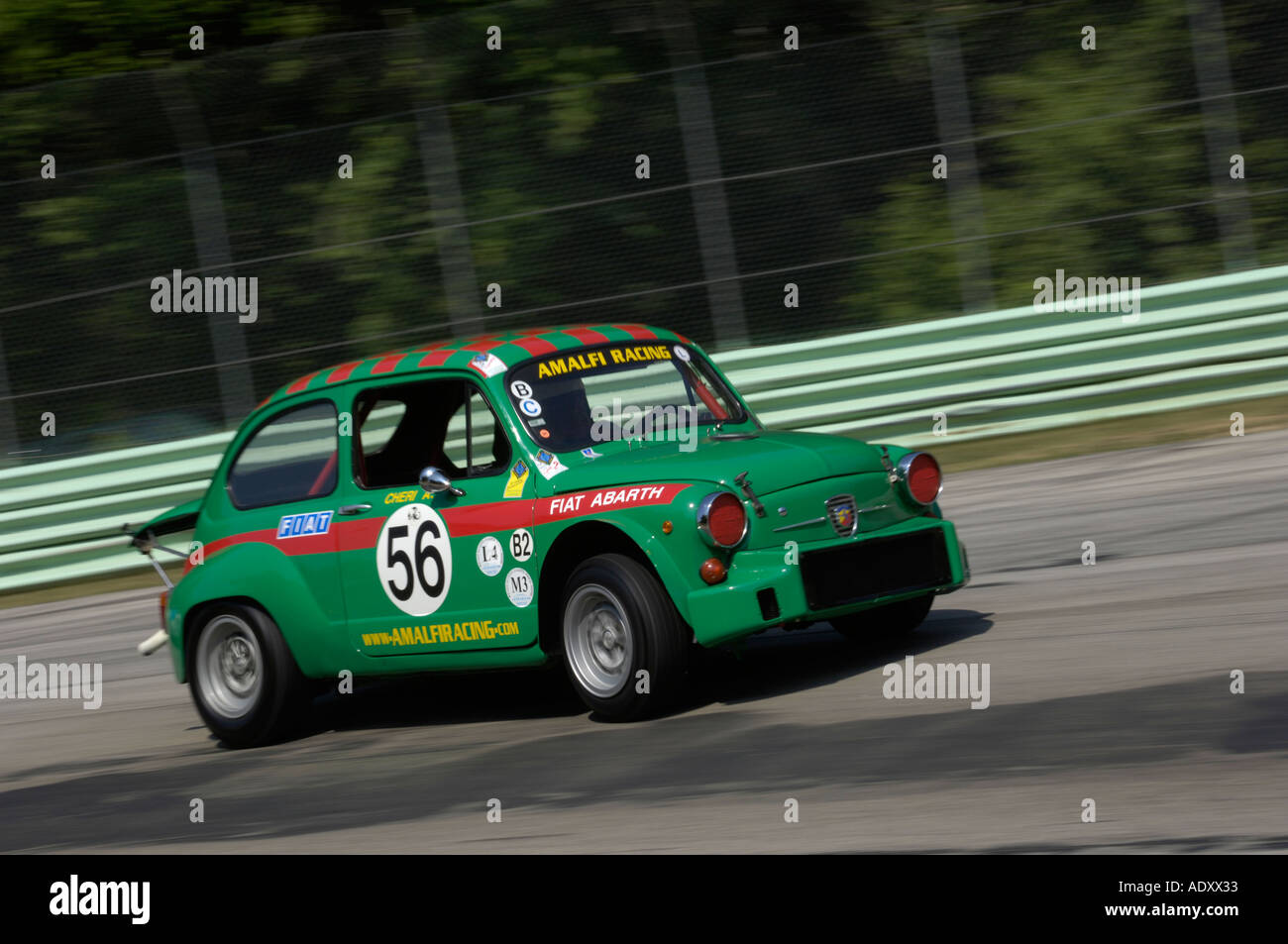 Fantastic Mini Miglia Challenge Car 2005: Fiat Racing Car Stock Photos & Fiat Racing Car Stock