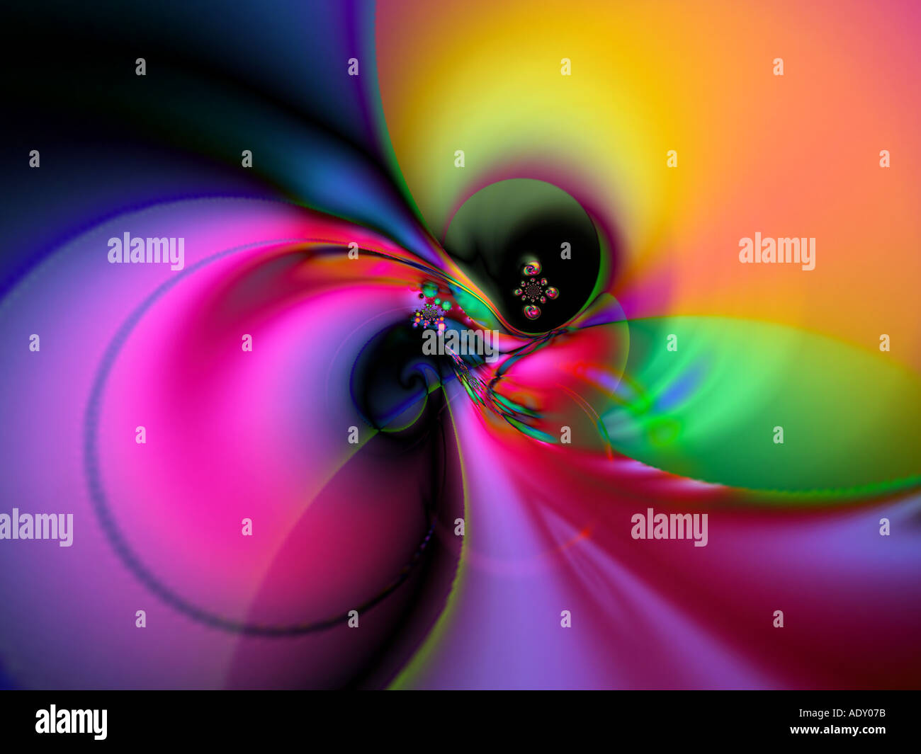 Push bubble - Stock Image