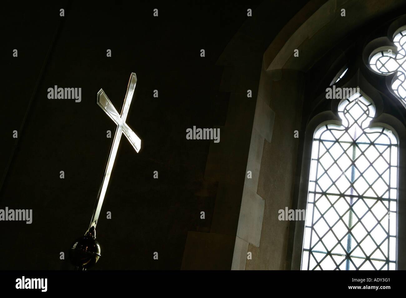 Church Cross - Stock Image
