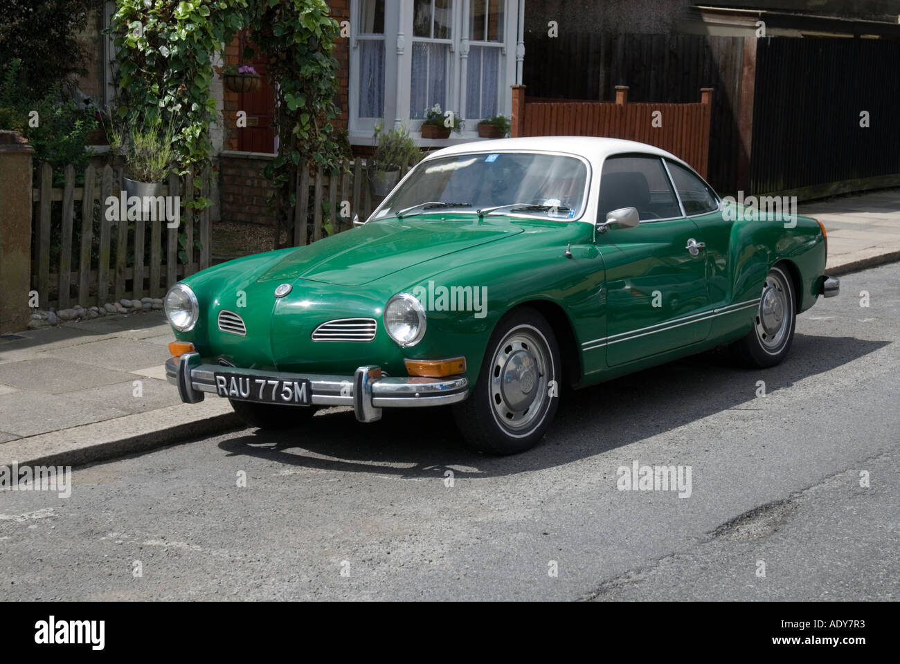 Vw Karmann Ghia Stock Photos Images Alamy 1960 Volkswagen Classic Car Image