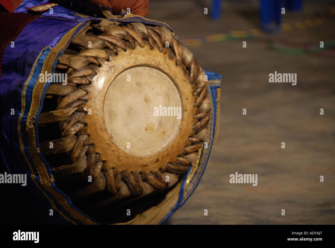 Madhalam A Traditional Musical Instrument Kerala Stock Photo