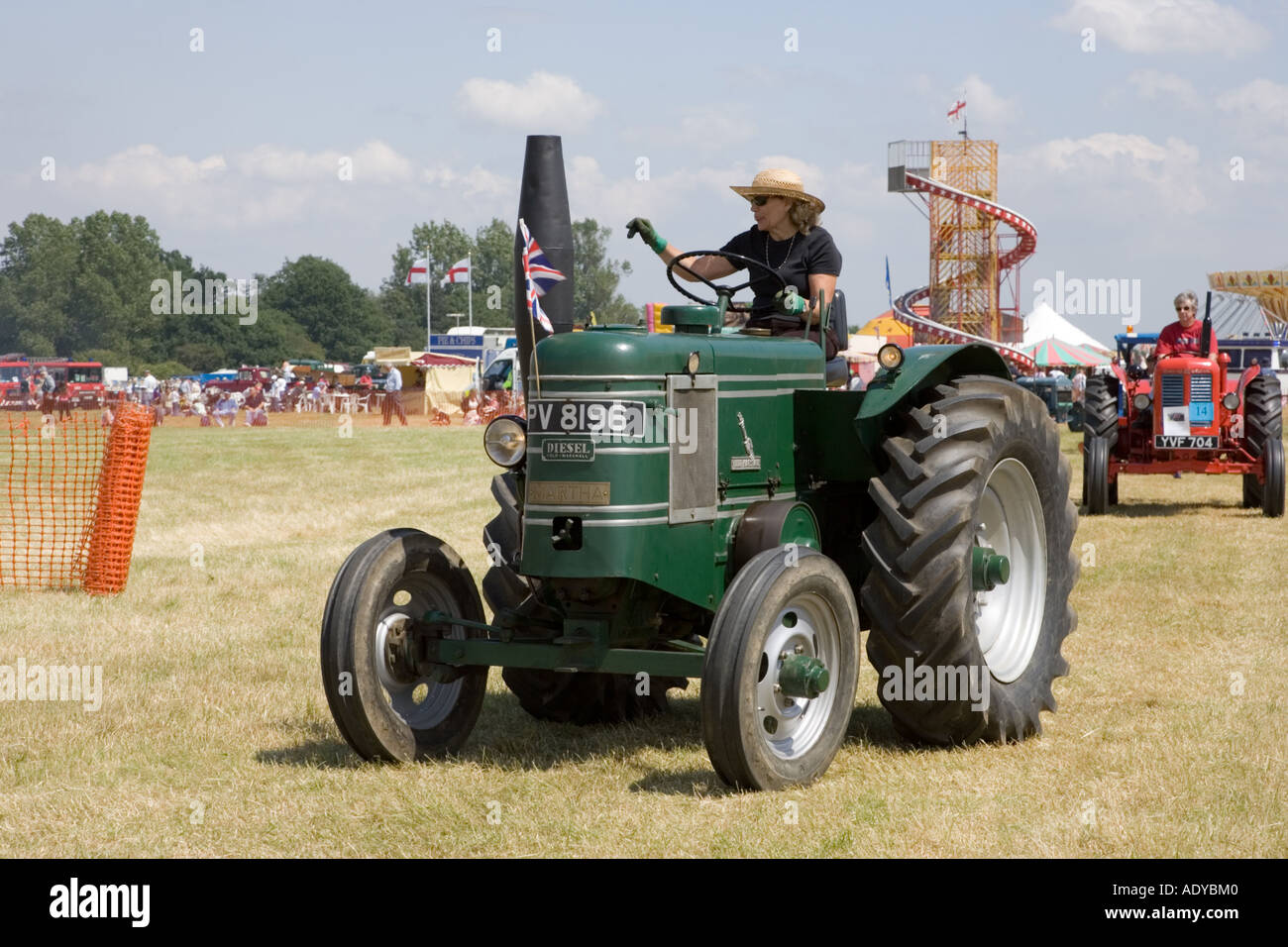 A Field Marshall tractor on display at Rougham Fair 2006 - Stock Image