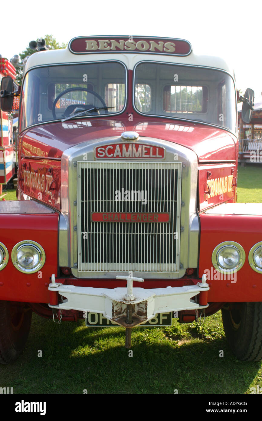 Scammell Highwayman Truck - Stock Image