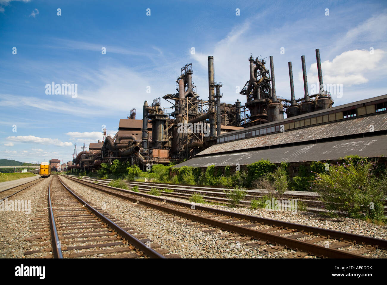 Closed Bethlehem Steel Mill July 2007 Stock Photo: 13526958 - Alamy