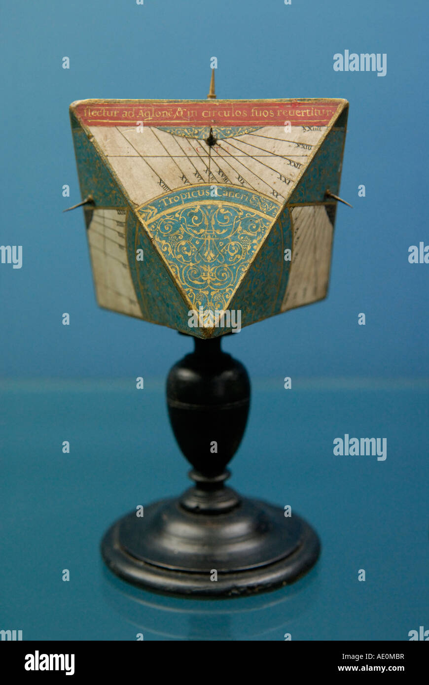 Renaissance antique sundial - Stock Image