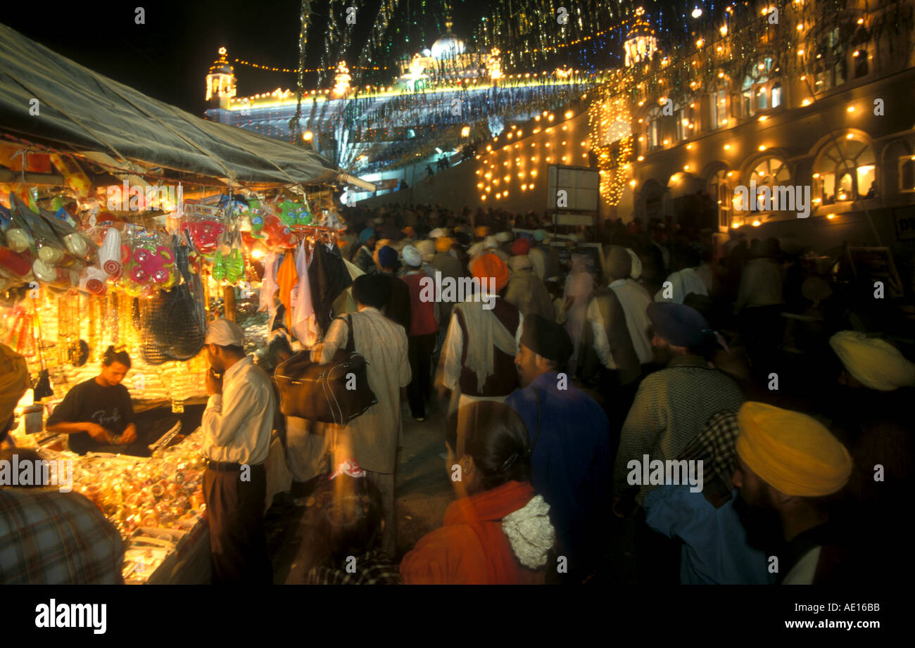 Festival time Anantpur Sahib Hola Mohalla Roopnagar Punjab India Stock Photo