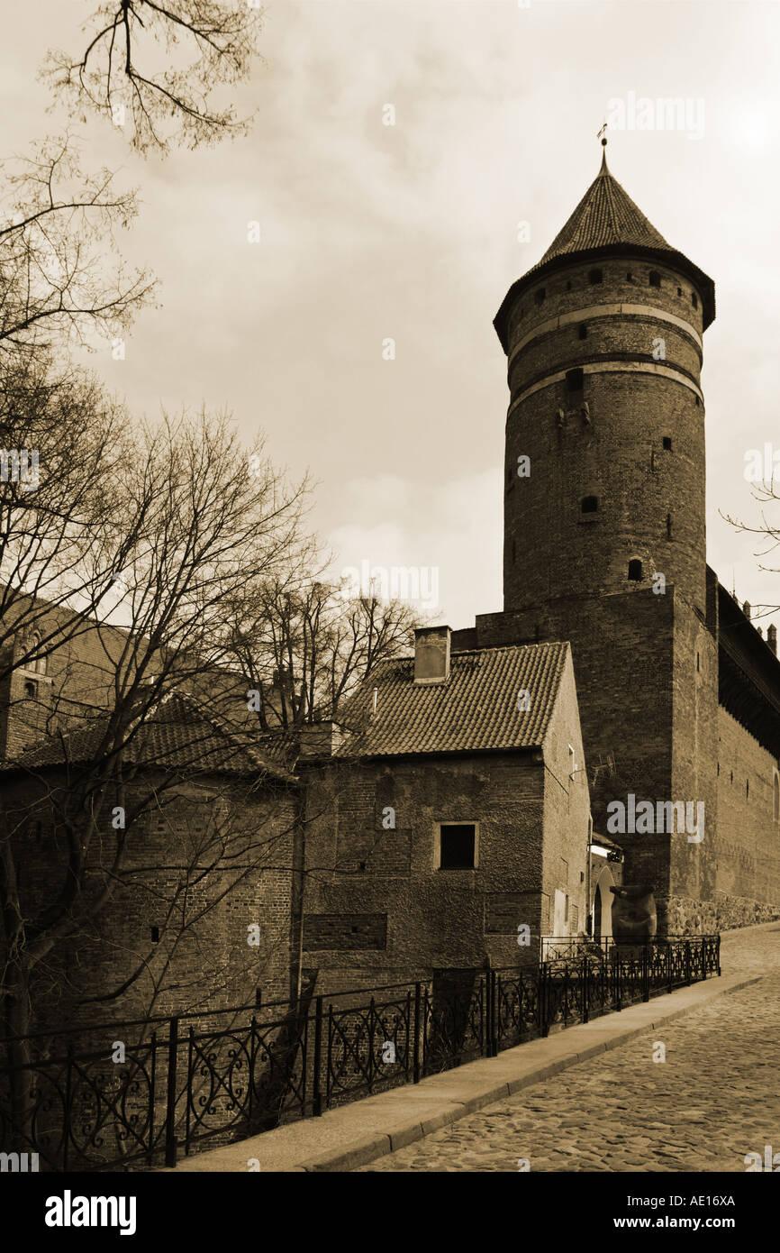 The Olsztyn Castle, Olsztyn, Poland - Stock Image