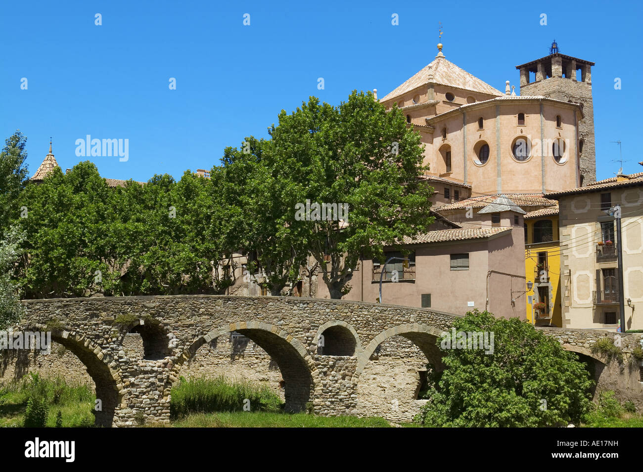 SAINT-PETER CATHEDRAL - VIC - CATALONIA - SPAIN - Stock Image