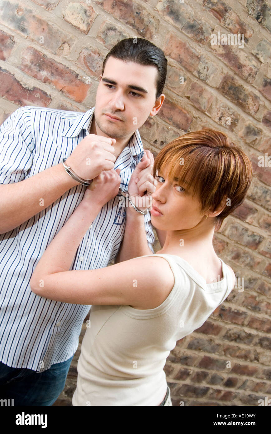 Ladies handcuffing 4 Kinky
