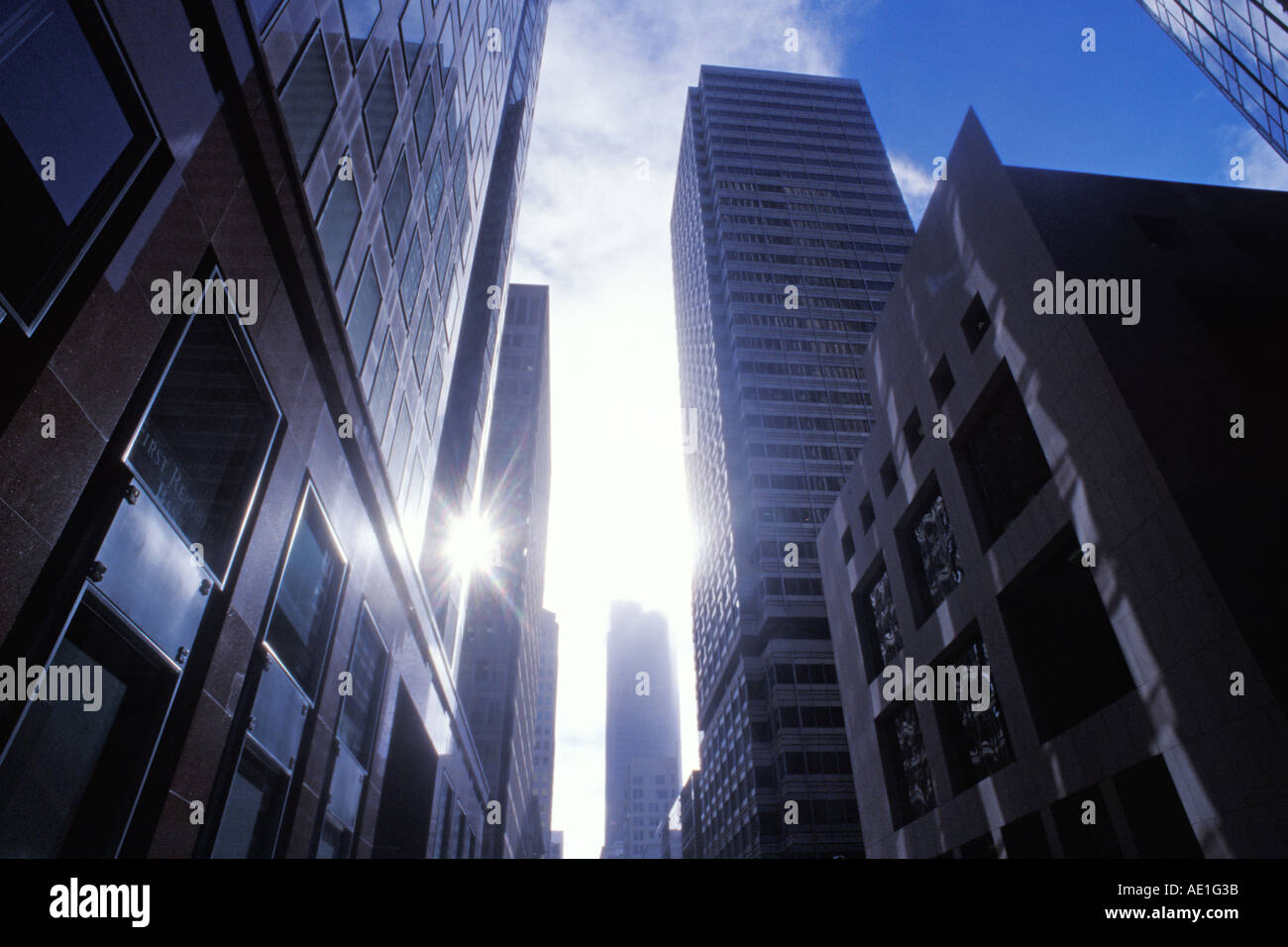 California San Francisco Downtown Stock Photo