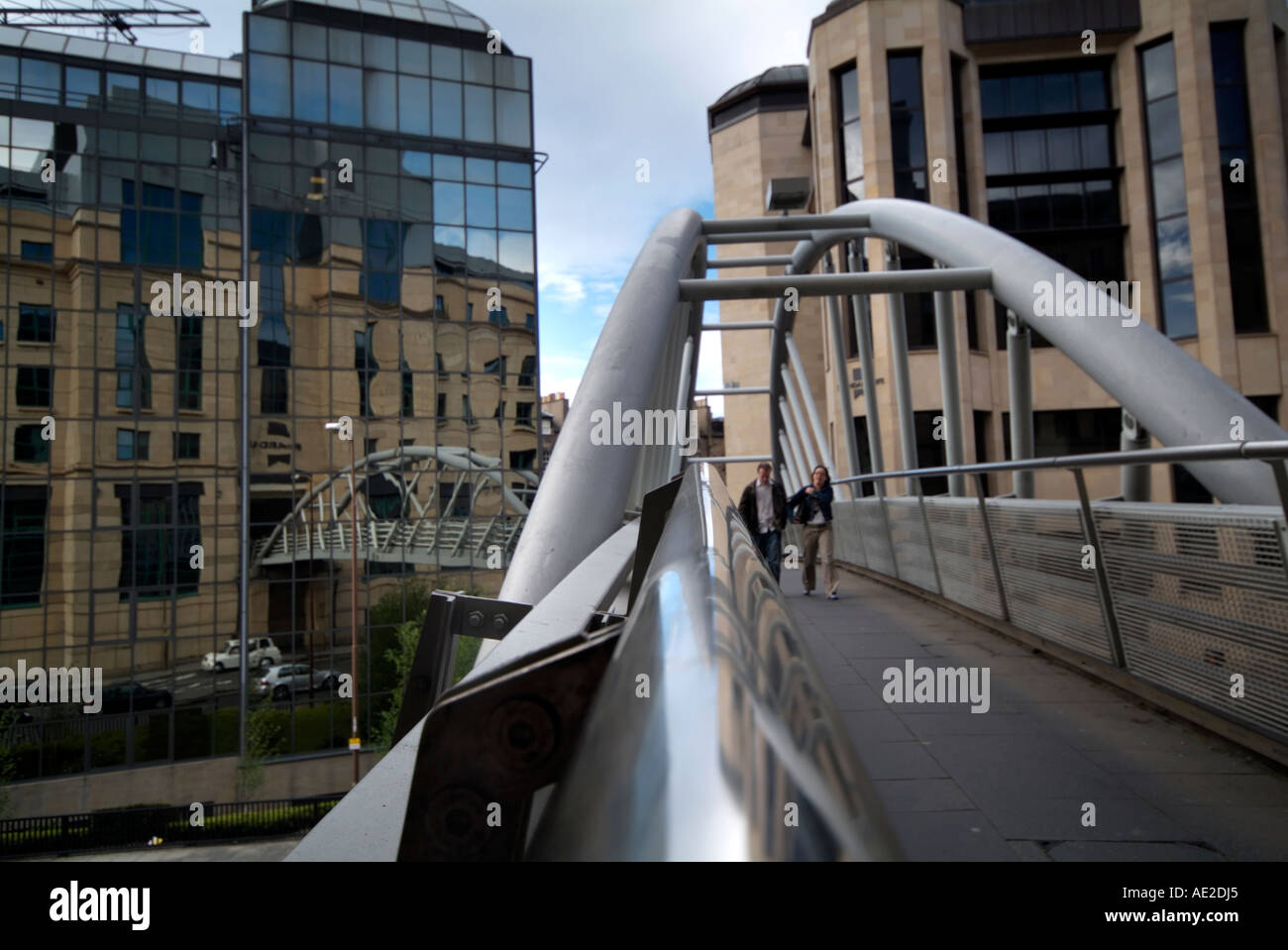 21st century Edinburgh - Stock Image