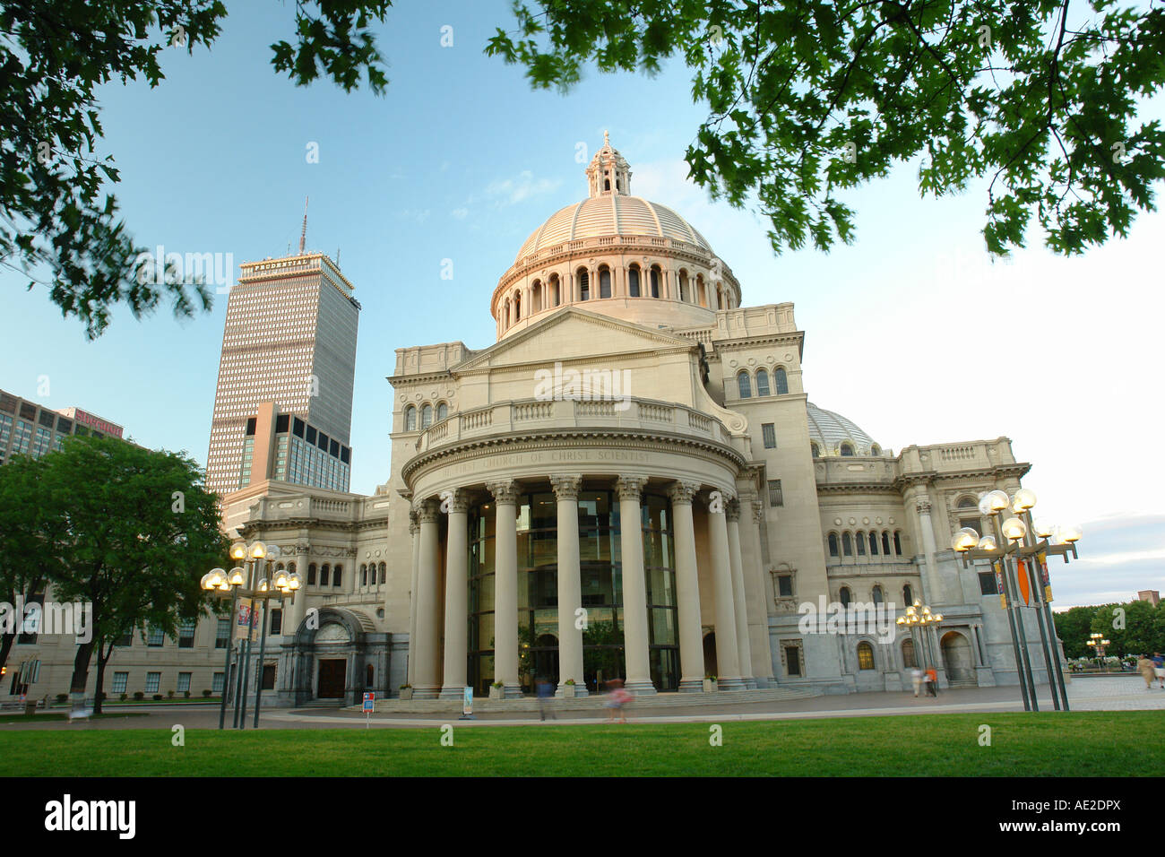 AJD59022, Boston, MA, Massachusetts, Downtown, The First Church of Christian Scientist - Stock Image