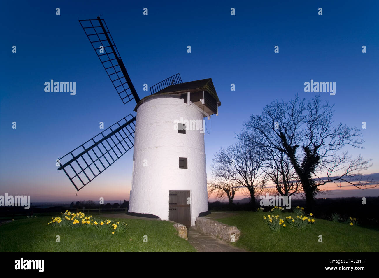 Ashton Windmill at Chapel Allerton near Axminster, Somerset, UK - Stock Image
