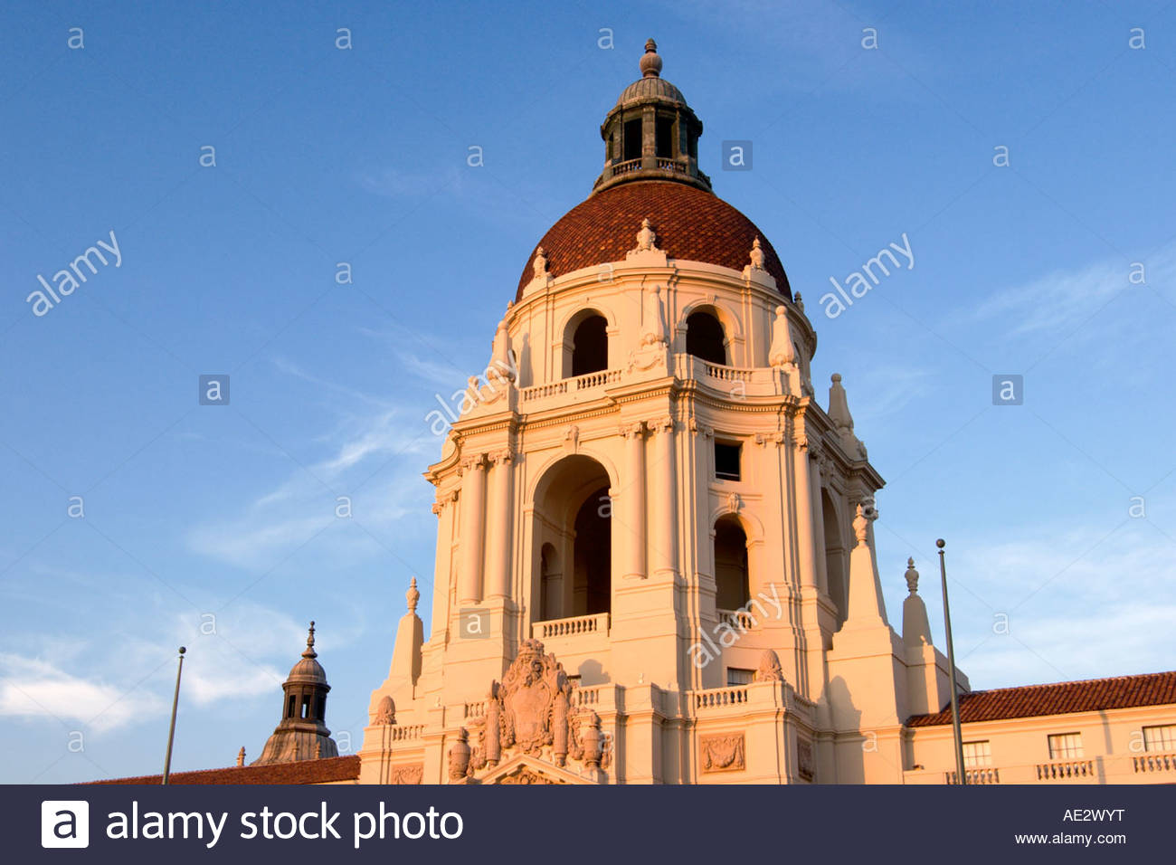 pasadena city hall baroque italian renaissance architecture style