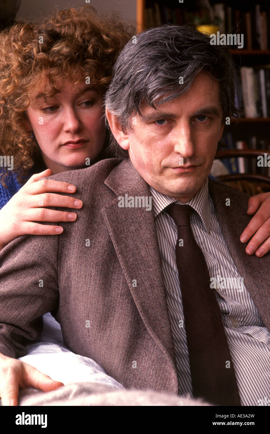 Clive Wearing orchestral conductor striken with a rare type of amnesia with his wife Deborah Wearing - Stock Image