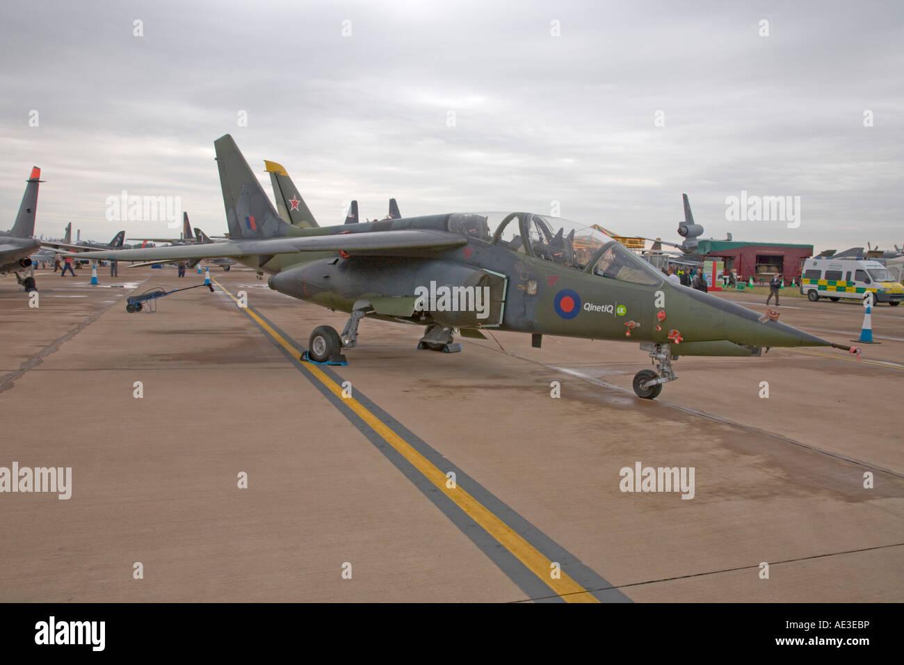 UK QinetiQ Dassault Dornier Alpha Jet ZJ646 - Stock Image