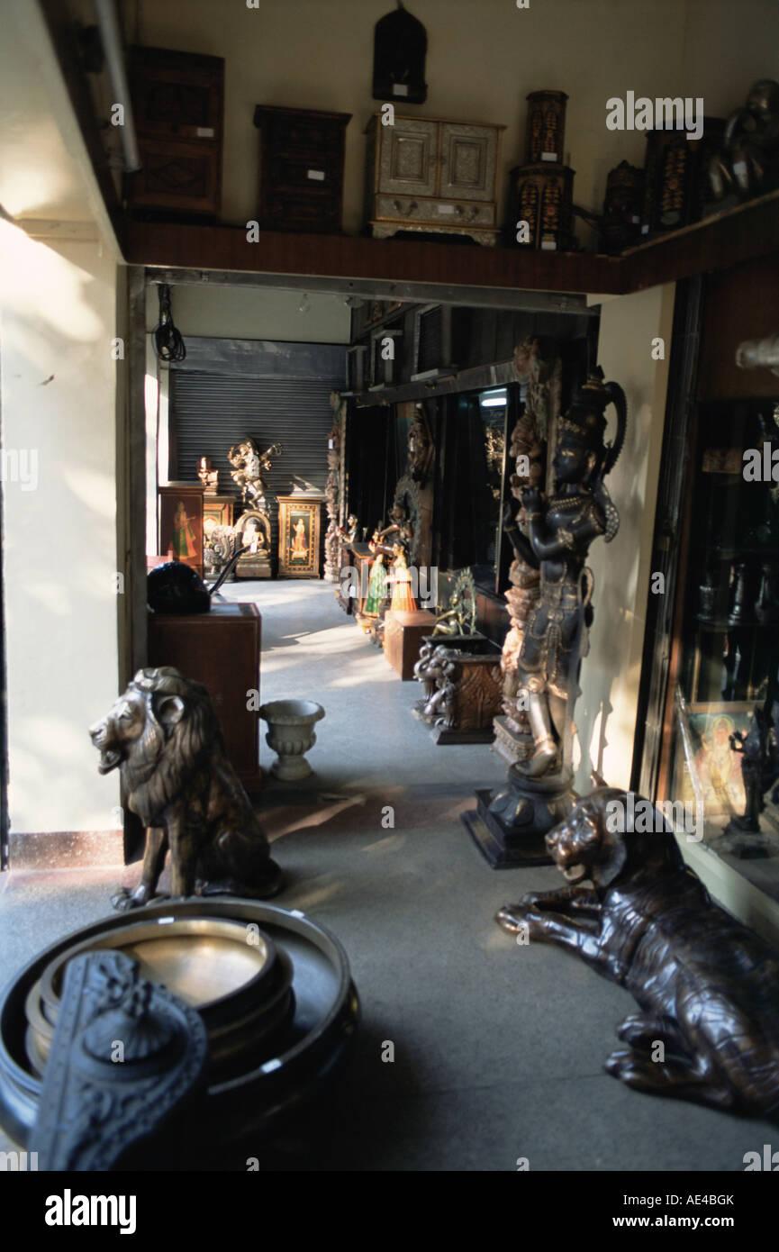 Antique Shops Delhi India Asia Stock Photo 13563954 Alamy