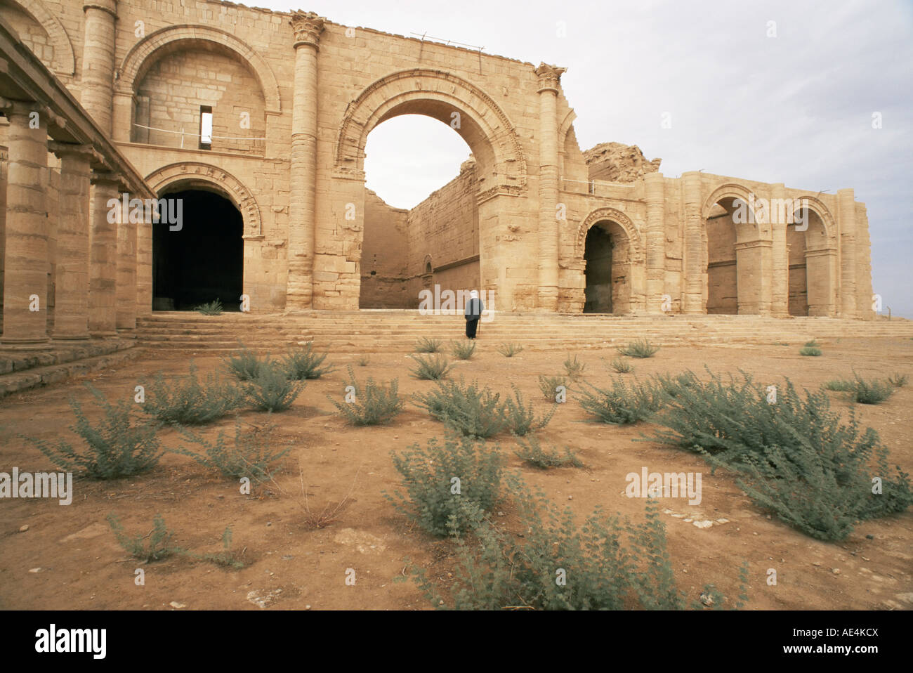 Iwan group, Hatra, UNESCO World Heritage Site, Iraq, Middle East - Stock Image