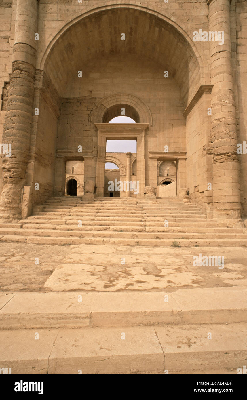 South Gate, Hatra, UNESCO World Heritage Site, Iraq, Middle East - Stock Image