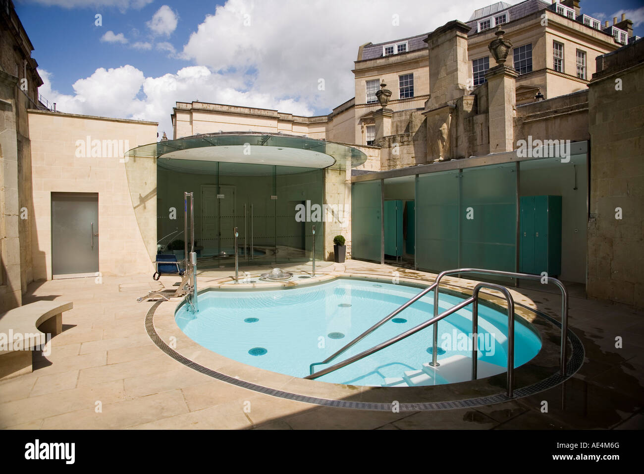 Cross Bath, Thermae Bath Spa, Bath, Avon, England, United Kingdom ...