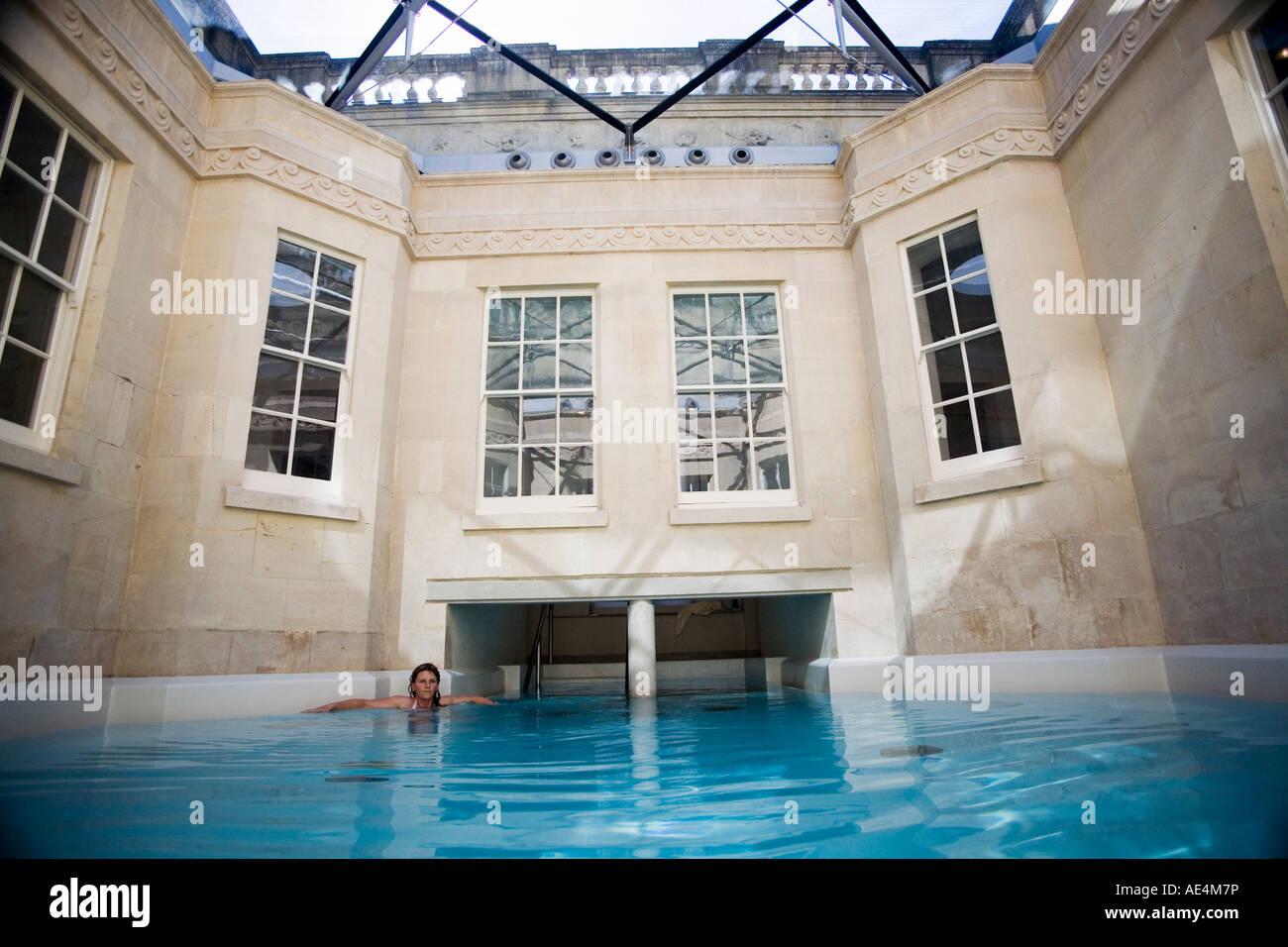 Hot Bath, Thermae Bath Spa, Bath, Avon, England, United Kingdom ...