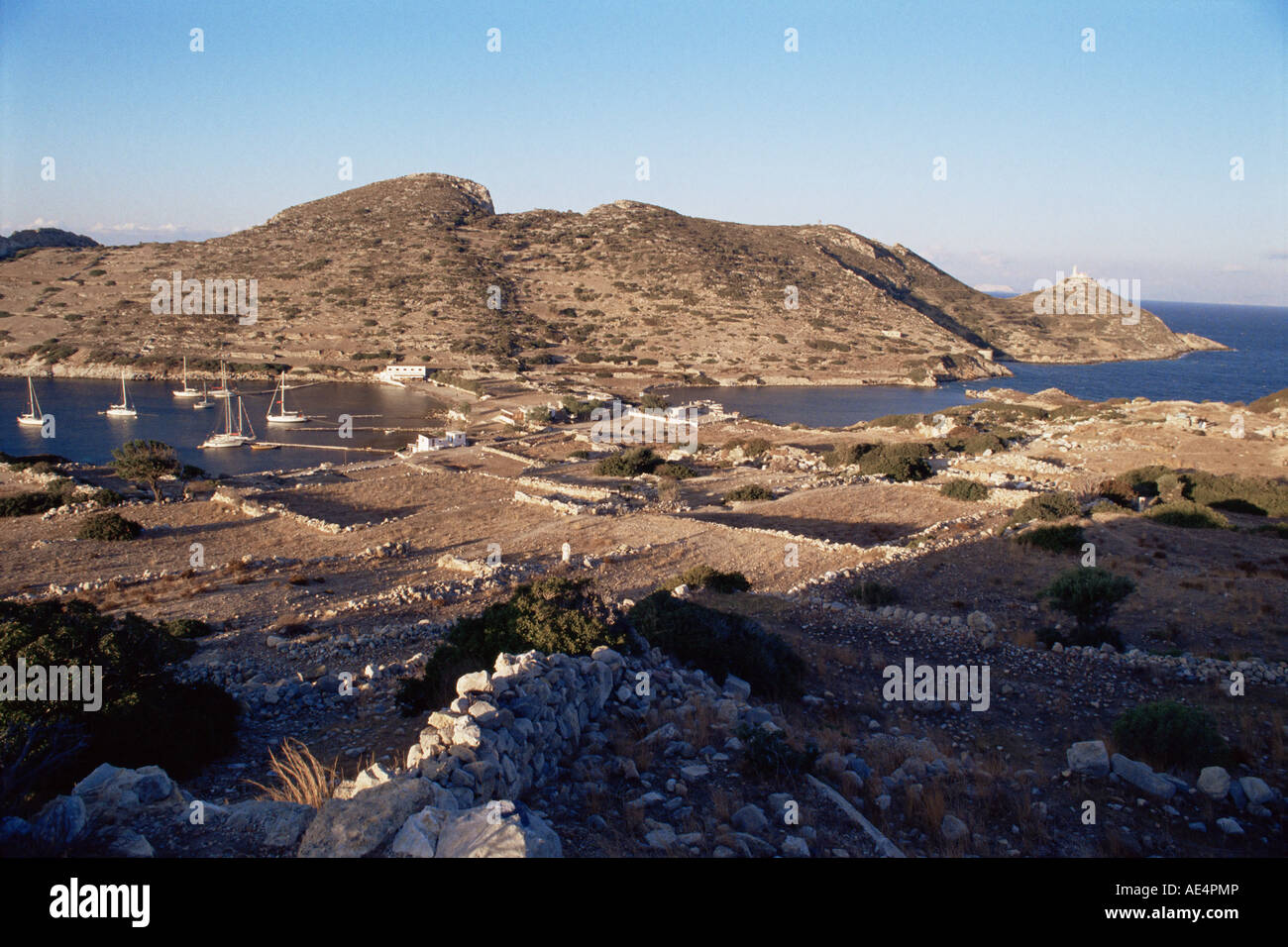 Hellenistic and Roman sites, Cnidos, Turkey, Aegean, Eurasia - Stock Image