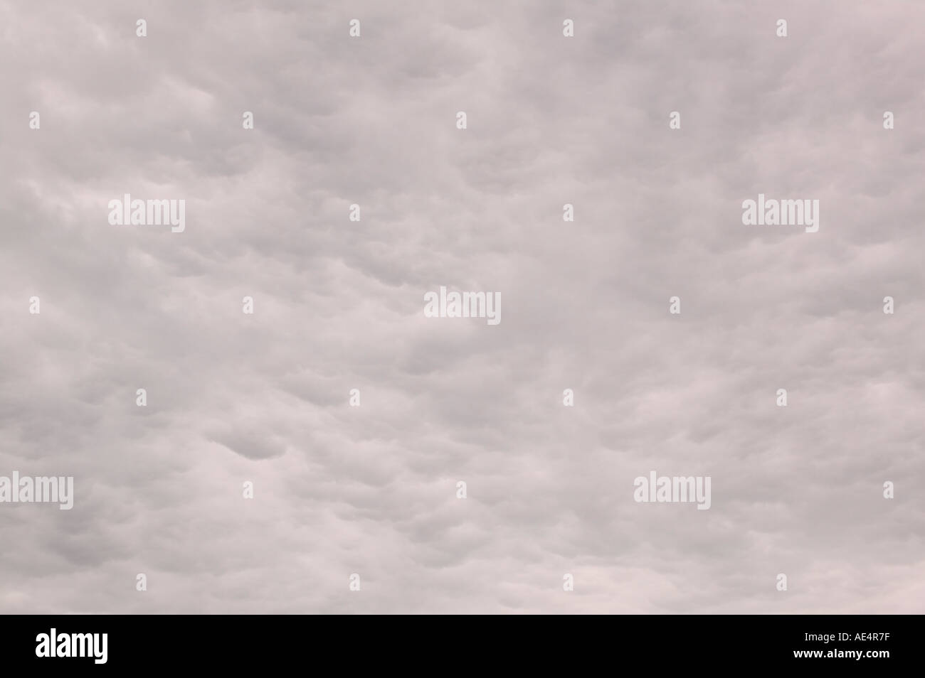 cloud on an occluded front - Stock Image