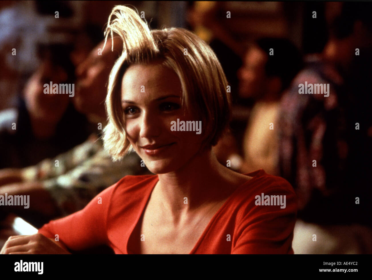 THERE S SOMETHING ABOUT MARY Cameron Diaz in the 1998 film - Stock Image